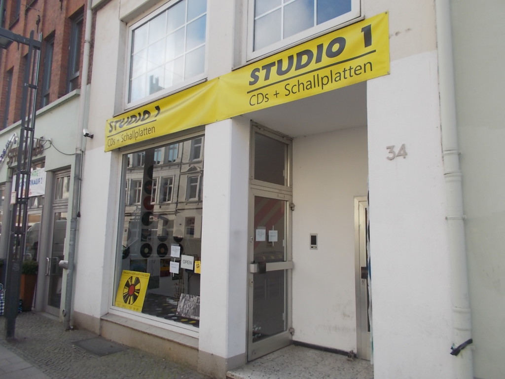 Studio1 in Lübeck Eingangsbereich